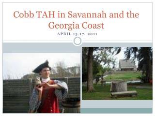 Cobb TAH in Savannah and the Georgia Coast
