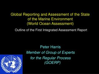 Peter Harris Member of Group of Experts for the Regular Process (GOERP)