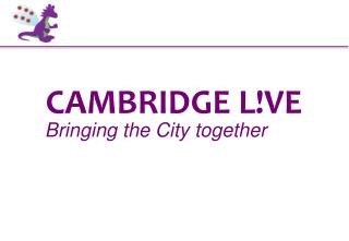 CAMBRIDGE L!VE