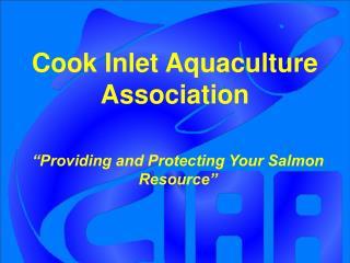 Cook Inlet Aquaculture Association