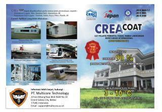 Informasi lebih lanjut ,  hubungi  : PT. Multicore Technology Jl.Pulo Ribung  Raya Blok RGM No.19
