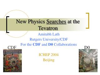 New Physics  Searches  at the Tevatron