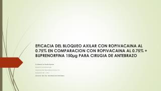 Dr. Eduardo Luis Peralta Figueiras  Residente de Anestesiología