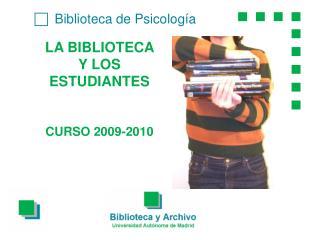 c  Biblioteca de Psicología