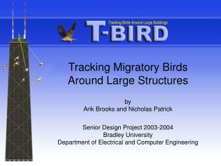 Tracking Migratory Birds Around Large Structures by  Arik Brooks and Nicholas Patrick