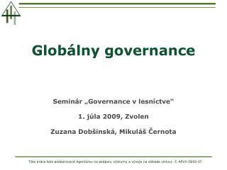 Globálny governance
