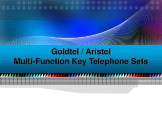 Goldtel / Aristel Multi-Function Key Telephone Sets