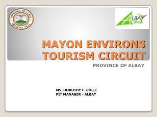 MAYON ENVIRONS TOURISM CIRCUIT