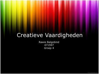 Creatieve Vaardigheden