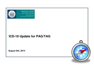 ICD-10 Update for PAG/TAG