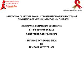 ZIMBABWE AIDS NETWORK