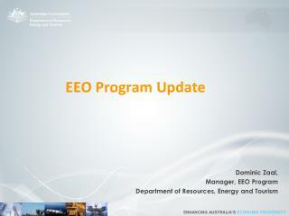 EEO Program  U pdate