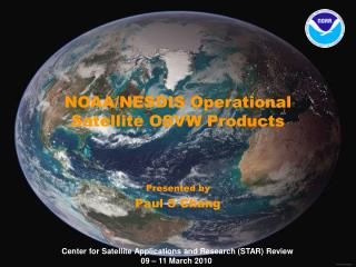 NOAA/NESDIS Operational Satellite OSVW Products