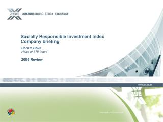Socially Responsible Investment Index Company briefing