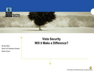 Vista Security Will it Make a Difference?