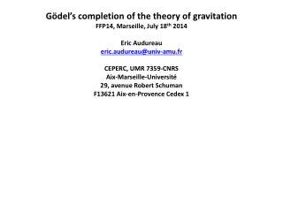 Gödel's education and interest in physics