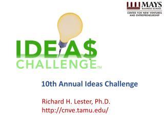 10th Annual Ideas Challenge