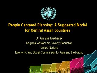 People Centered Planning: A Suggested Model