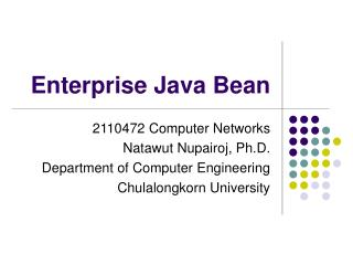 Enterprise Java Bean