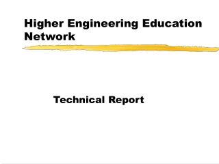 Higher Engineering Education Network
