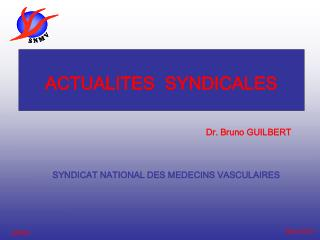 ACTUALITES  SYNDICALES