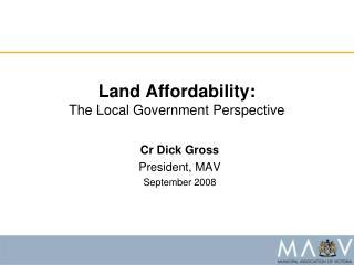 Land Affordability: