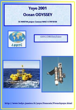 Yoyo 2001 Ocean ODYSSEY EC MAST III project Contract MAS 3 -CT97-0130
