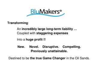 Transforming : An  incredibly large long-term liability � Coupled with  staggering expenses