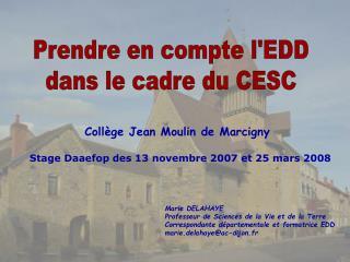 Collège Jean Moulin de Marcigny