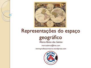 Representações do espaço geográfico