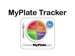 MyPlate  Tracker
