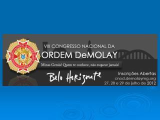 Projeto Caravana do  GCEMS para o            VIII CNOD  Belo Horizonte 2012