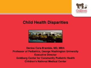 Child Health Disparities