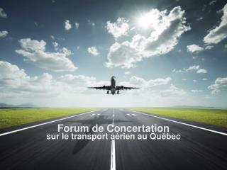 Forum de Concertation