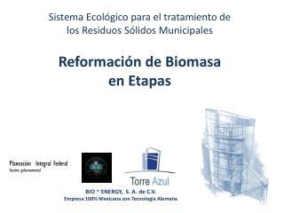 Sistema  Ecológico  para el tratamiento de  l os Residuos  Sólidos  Municipales