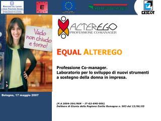 Bologna, 17 maggio 2007