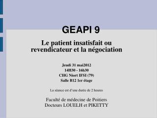 GEAPI 9