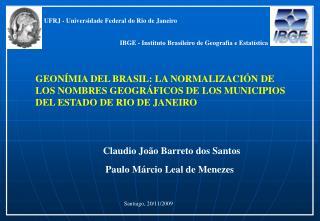 Claudio João Barreto dos Santos