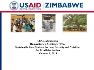 USAID/Zimbabwe Humanitarian Assistance Office