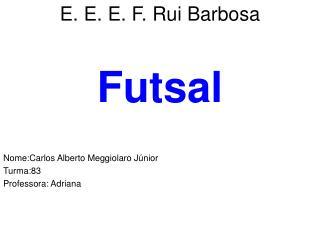 E. E. E. F. Rui Barbosa