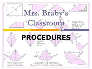 Mrs. Braby's Classroom