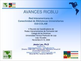 V Reunión de Coordinadores de  Redes Interamericanas de Formación del  Colegio de las Américas