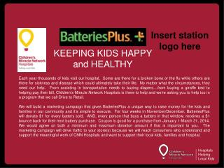 KEEPING KIDS HAPPY and HEALTHY