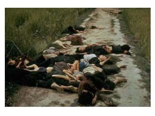 My Lai massacre, March 1968 news photo