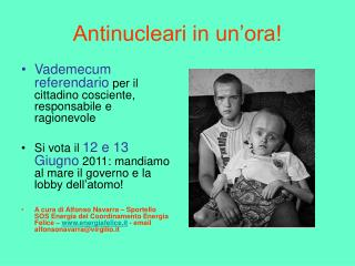 Antinucleari in un'ora!