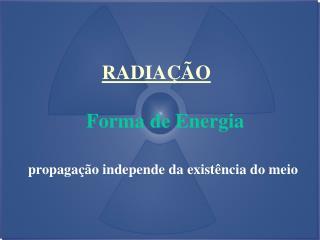 Forma de Energia