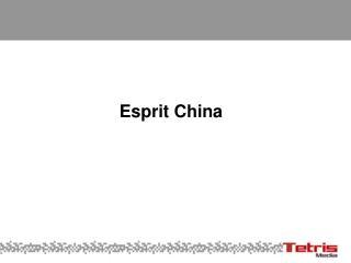Esprit China