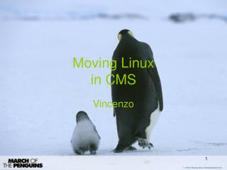 Moving Linux in CMS