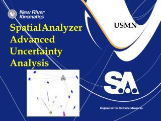 SpatialAnalyzer Advanced Uncertainty Analysis