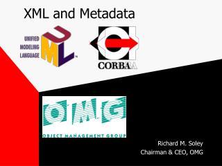 XML and Metadata